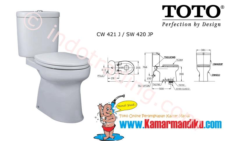 Sell Toto Toilet Cw421j From Indonesia By Kamar Mandiku