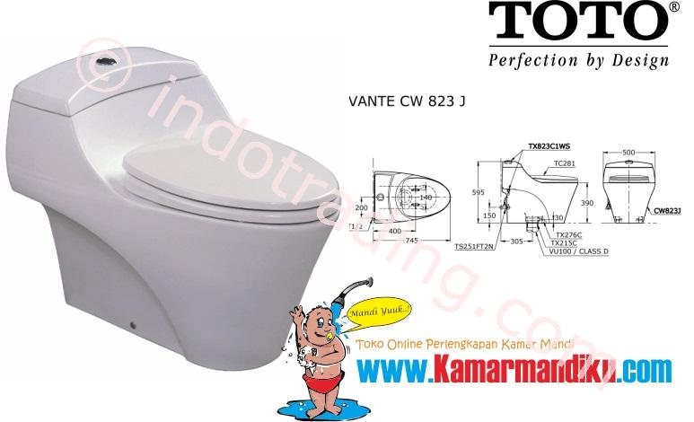 Sell Toto Toilet Cw 823J from Indonesia by Kamar Mandiku.Com,Cheap Price
