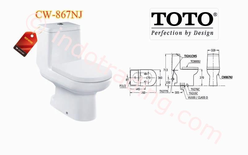 Sell Toto Toilet Cw 867 Nj from Indonesia by Kamar Mandiku.Com,Cheap ...
