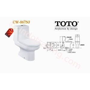 Jual Toto Closet Cw 867 Nj