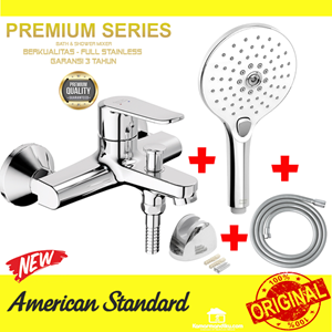 From American Standard Promo shower mixer New + hand shower set Premium 2