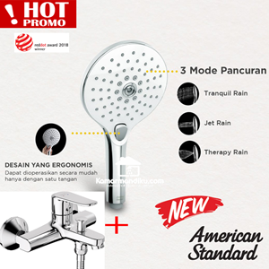 From American Standard Promo shower mixer New + hand shower set Premium 0