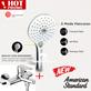 American Standard Promo shower mixer New + hand shower set Premium
