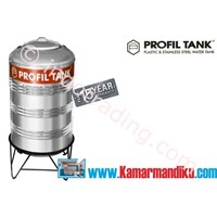 Tangki Air Stainless Steel Ps 380 (Kap 380 Liter) Merk Profil