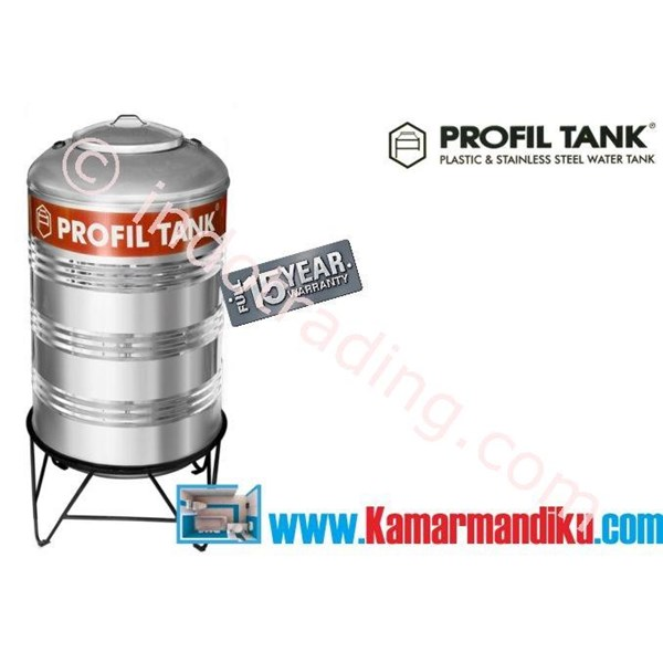 Tangki Air Stainless Steel Ps 380 (Kap 380 Liter) Merk Profil