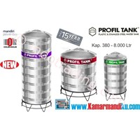 Tangki Air Stainless Steel Ps 2000 (Kap 2000Liter) Merk Profil