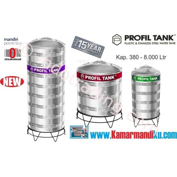 Tangki Air Stainless Steel Ps 2000 (Kap 2000Liter) Merk Profil