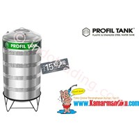 Tangki Air Stainless Steel Ps8000 (Kap 8000Liter) Merk Profil