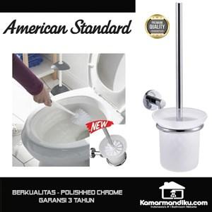 Dari American Standard NEW Toilet Brush sikat kloset polished chrome premium 0
