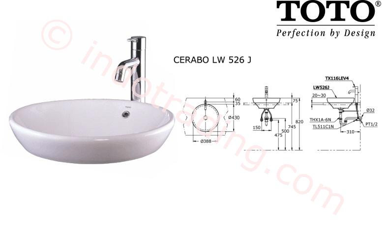 Sell Lavatory Toto Lw 526 J From Indonesia By Kamar