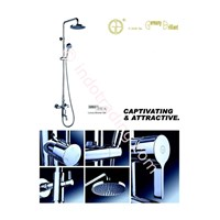 Kran Bath Mixer Shower Set Germany Brilliant Gbv 5701A