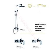 Kran Bath Mixer Shower Set Germany Brilliant Gbv 7003