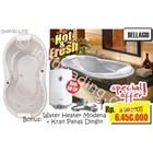 Paket Perlengkapan Kamar Mandi Bathtub Chrysolite Bellagio Dan Pemanas Air 1