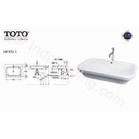 Wastafel Toto Lw 631J 1