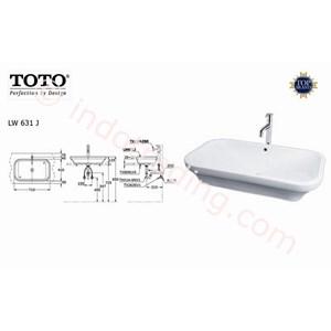 Wastafel Toto Lw 631J