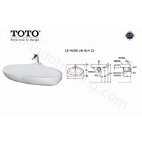 Wastafel Toto Lw 814Cj 1