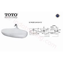 Wastafel Toto Lw 814Cj