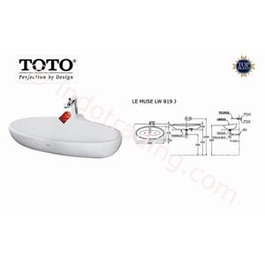 Wastafel Toto Lw 819J