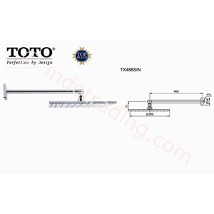 Jual Shower Set Toto Tx488sln