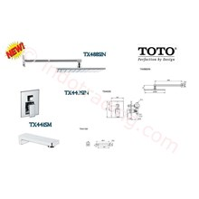Toto Shower Set  Toto Tx488sin+ Tx442sin+ Tx441sm