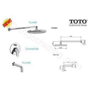 Toto Shower Set  Toto Tx488s+ Tx404shnbr+ Tx441se
