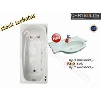 Promo Crhysolite Free Sink Marble Bathtubs
