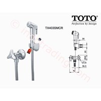 Toto Jet Shower Exclusive Berkualitas Tx403smcrb 1