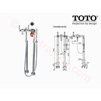 Toto Shower Floor Standing Tx445selmv3n 1