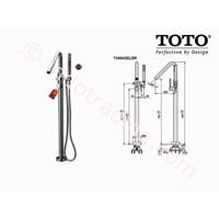 Toto Shower Floor Standing Tx494selbr 1