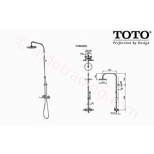 Shower Set Toto Tx 492 Sg