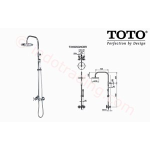 Shower Set Toto Tx492 Sgncrb