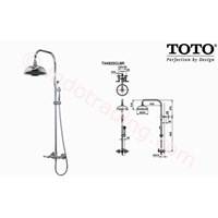 Shower Set Toto Tx492 Scbr 1