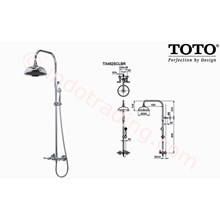 Shower Set Toto Tx492 Scbr