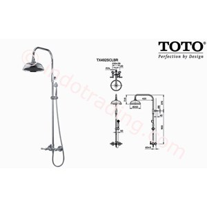 Shower Set Toto Tx492 Scbr