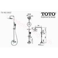 Shower Set Toto Tx492 Srsz 1