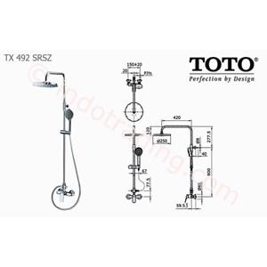 Shower Set Toto Tx492 Srsz