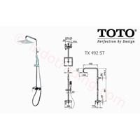 Shower Set Toto Tx492 St 1
