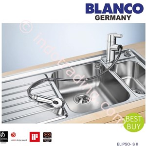 Blanco Kitchen sink Mixer Tap Elipseo SII 2