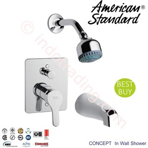 American Standard Concept In Wall Bath&Shower