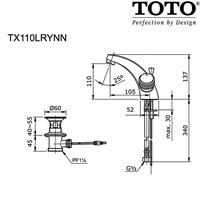 Jual TOTO TX110LRYNN 2