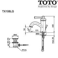 Jual TOTO TX108LG 2
