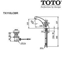 Jual TOTO TX110LCBR  2