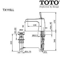 Jual TOTO TX115LL 2