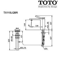 Jual TOTO TX115LQBR 2