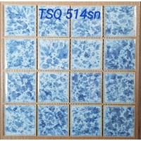 Mosaic kolam renang TSQ 514 Lantai Mosaic