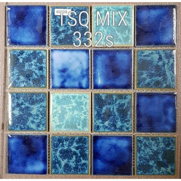 Jual Mosaic Kolam Renang Tipe TSQ Mix 332 S