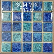 Mosaik Kolam Renang SQM Mix 535 sn