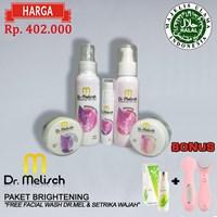 Paket Brightening Dr Melisch 100% Berkualitas Untuk Perawatan Wajah 1