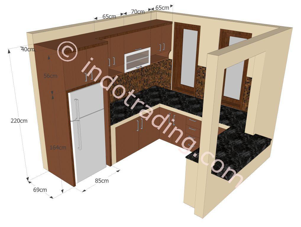 Jual kitchenset mungil minimalis harga murah jakarta oleh for Kitchen set jual