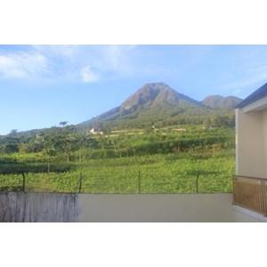 View Bagian Belakang Dari Villa Hanyomi Batu By Villa Hanyomi